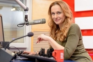 Monica Bubna Litic hostem Radiožurnálu